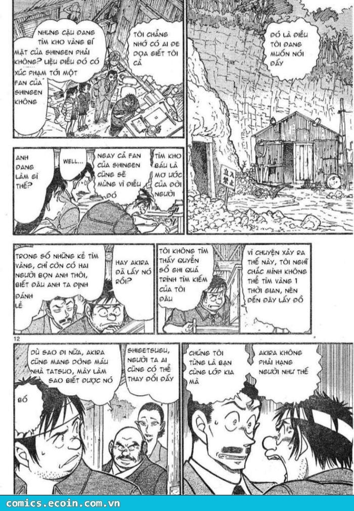 Detective Conan - Thám Tử Lừng Danh Conan chap 616 page 12 - IZTruyenTranh.com