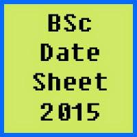 IUB BSc Date Sheet 2016