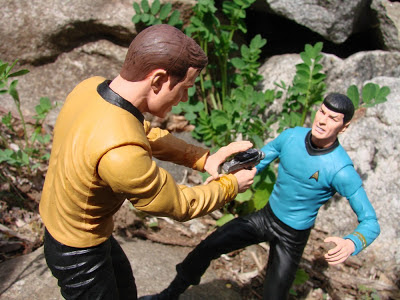 Kirk and Spock Action Figure Star Trek