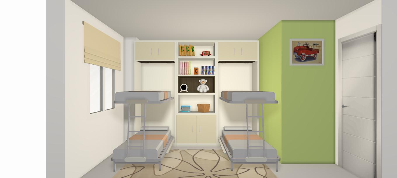 Camas abatibles en madrid camas abatibles toledo - Habitaciones con literas abatibles ...