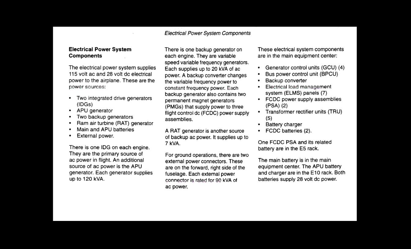 MH370 The power equipment center