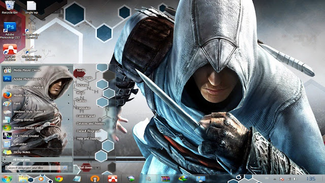 [ Theme Win 7 ] Assassin's Creed 1