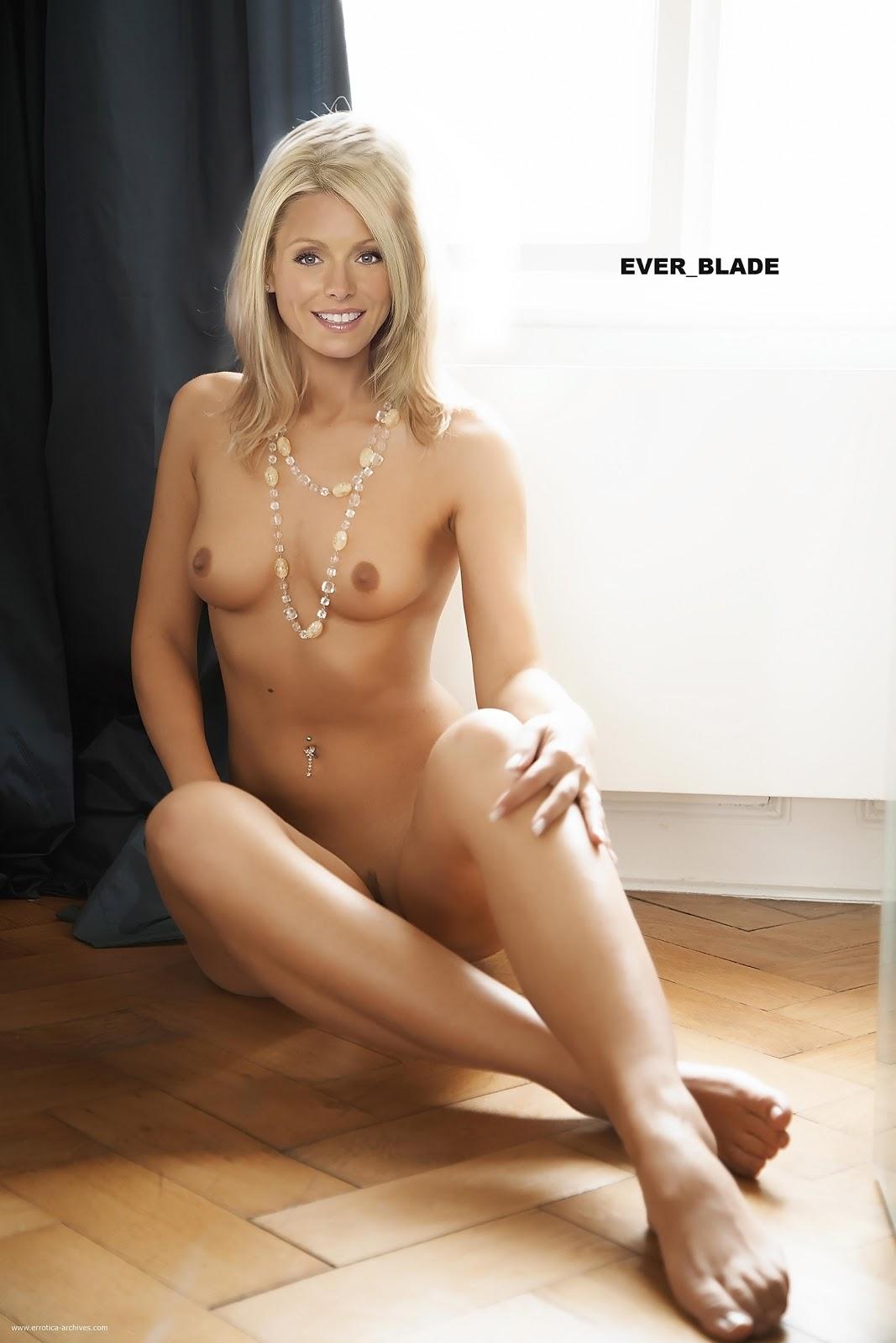 Kelly ripa fake nude
