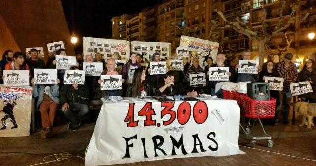 Firmas en apoyo a los acusados por la huelga for Horario oficina inem madrid