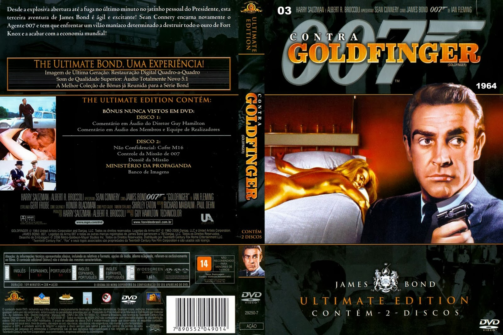 James Bond 007  Goldfinger  Wikipedia