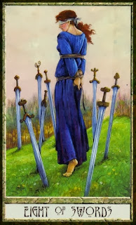 eight of swords druidcraft tarot