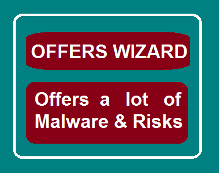 Offer Wizard browser add-potentially unwanted Harmful adware application