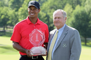 GOLF-Nicklaus es igualado por Tiger Woods