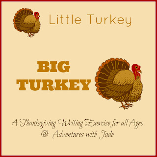 thanksgiving writing exercise