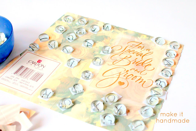 Learn to make flat marble magnets and flat marble alphabets in a flash with this neat tip from Make It Handmade! A perfect way to use those greeting cards you have stashed away.