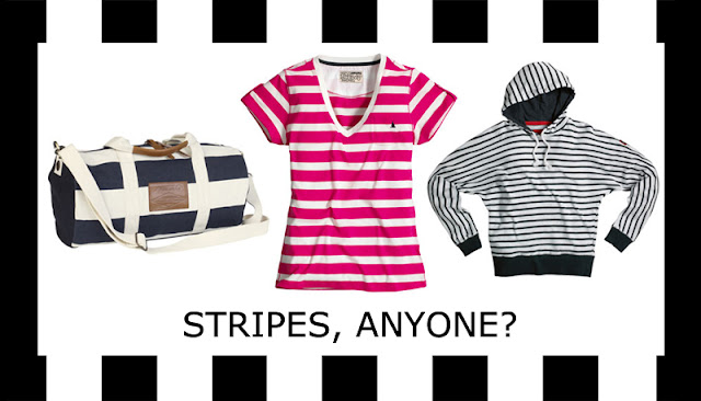 Stripy nautical fashion by British heritage brand MUSTO