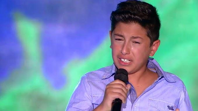 Aarón canta Soy Gitano: Final Individual Pequeños Gigantes