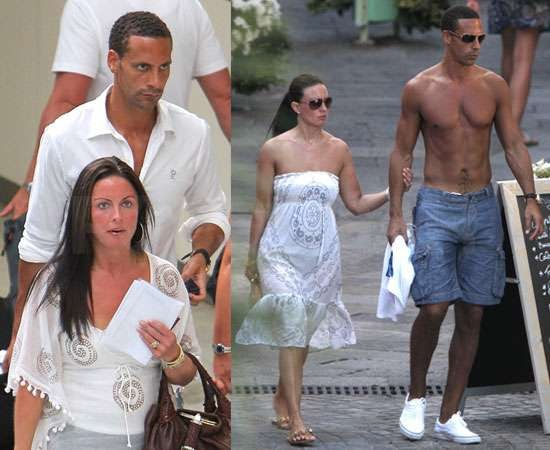 rio ferdinand and his wife quot2012quot wallpapers photos