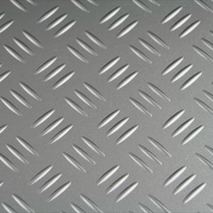 & Chrome Diamond Plate Plastic sheets