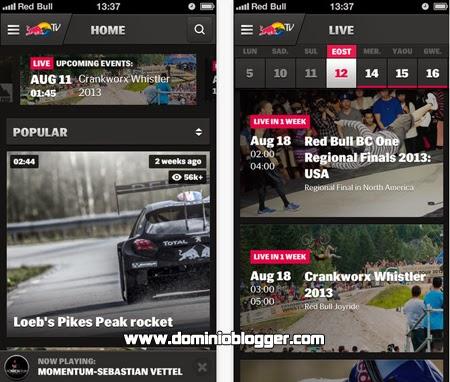 Los mejores eventos en directo con Red Bull TV online