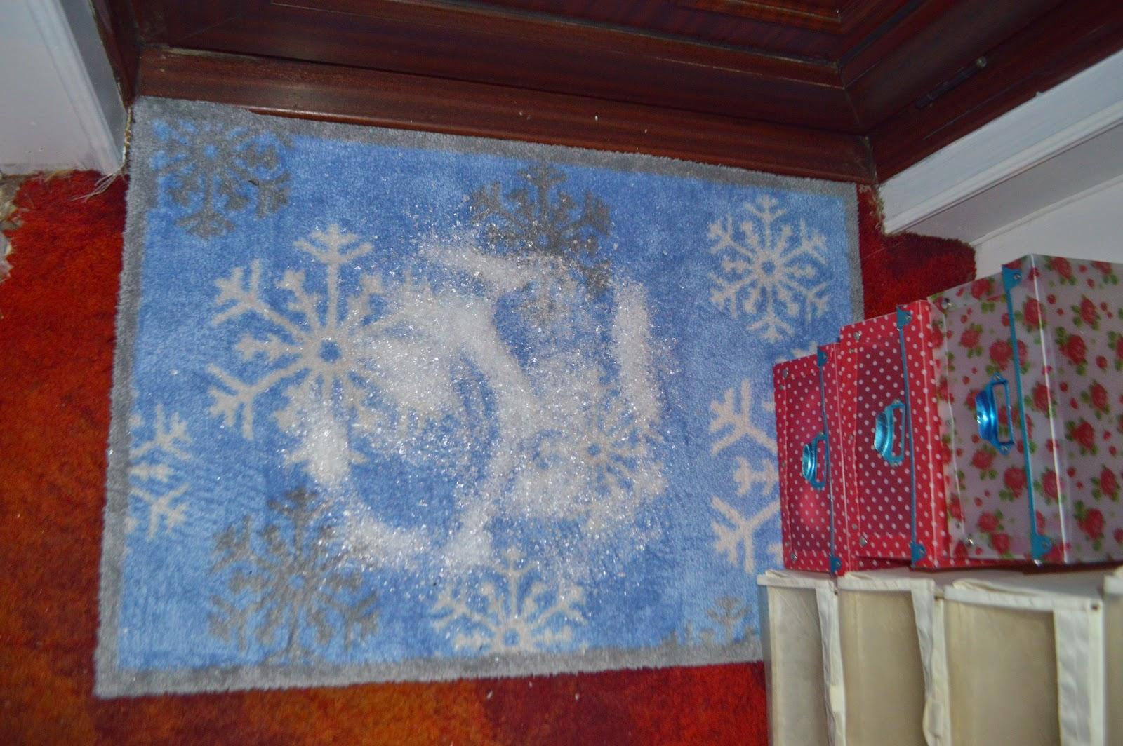 Turtle Mat Snowflake Mat Christmas Hallway
