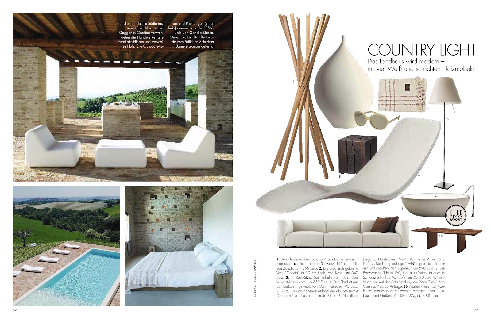 casa olivi elle decoration germany june 2012. Black Bedroom Furniture Sets. Home Design Ideas