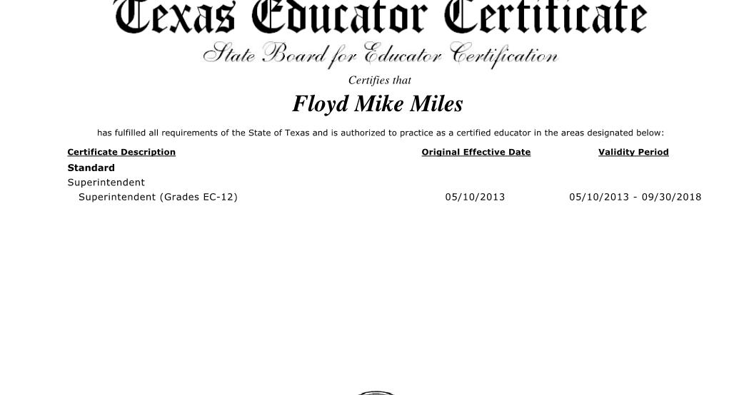 Carla Ranger - Dallas ISD Education Blog: Dallas ISD Superintendent ...