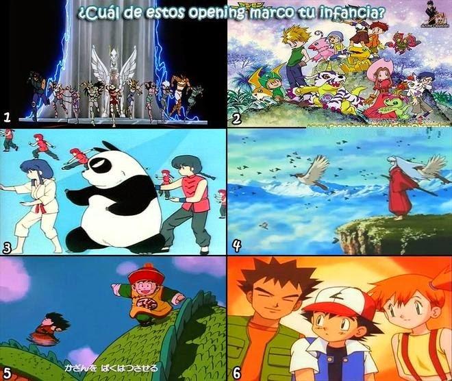 ¿Cuál de estos opening marco tu infancia?