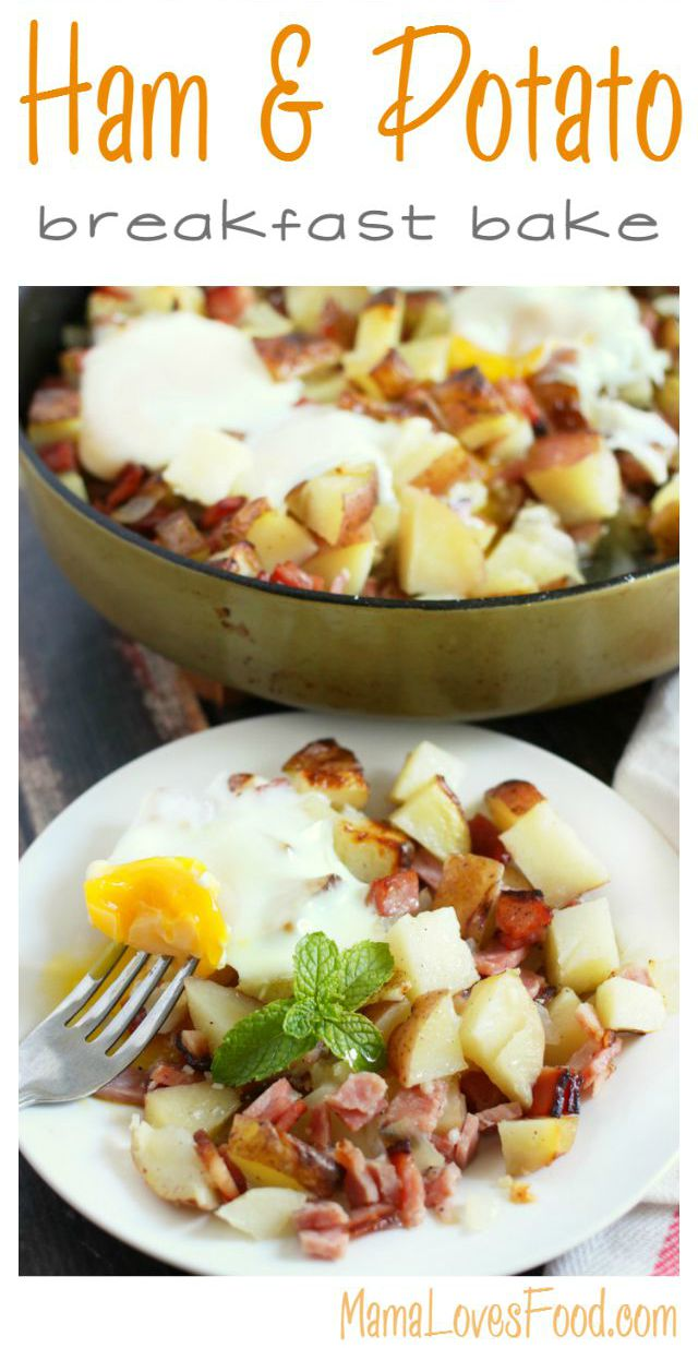 Ham and Potatoes Breakfast Bake Recipe