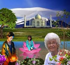 Eu, mãezinha e mãe Kuan Yng - - - presente do meu amigo Wagner