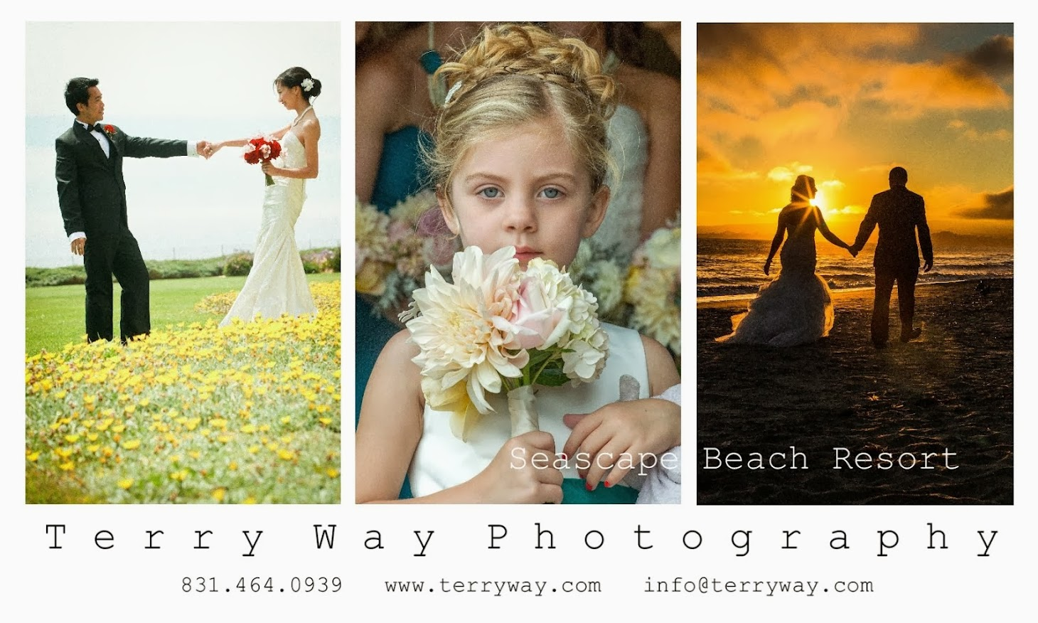 Seascape Beach Resort Wedding Photographer Terry Way