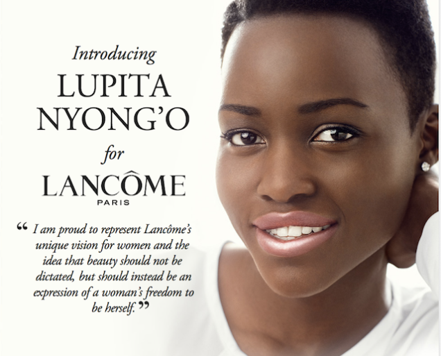 Lupita Nyong'o's first ad for Lancôme is here and she's flawless2