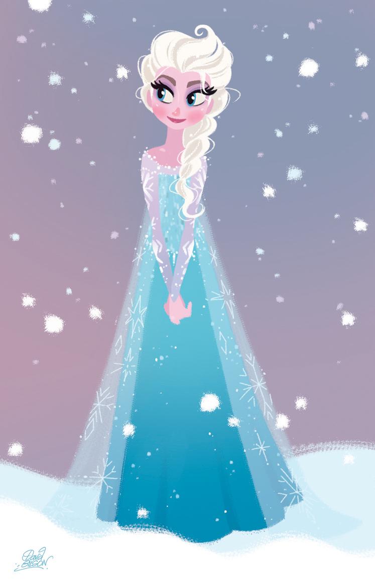 David gilson une p 39 tite elsa reine des neiges - Elsa la reine des neiges ...