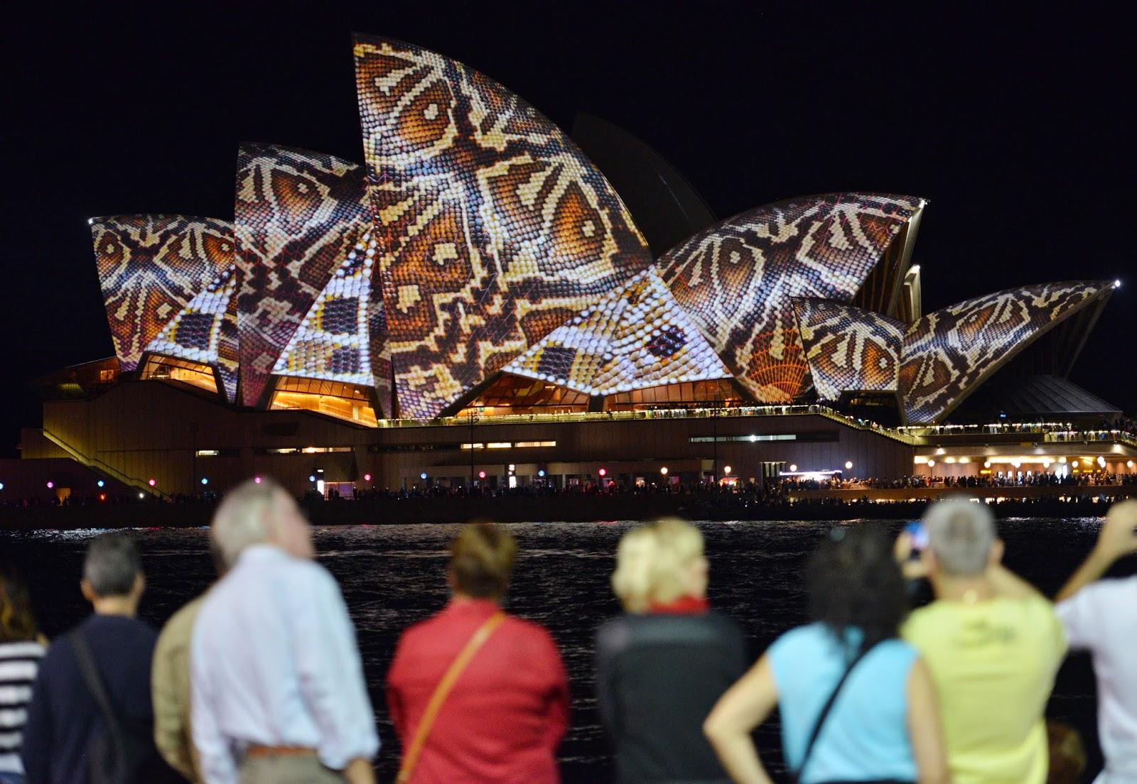 Australia, Culture, Festival, Festival of Lights, Lights Festival, News, Offbeat, Sydney Light Show, Sydney Opera House, Vivid Festival, Vivid Festival Photo,
