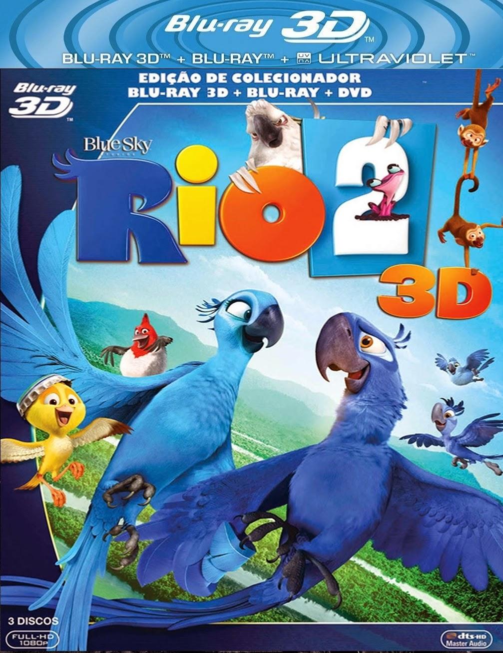 Rio 2 (2014) 3D Film indir