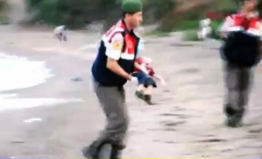 la tragedia de los refugiados sirios