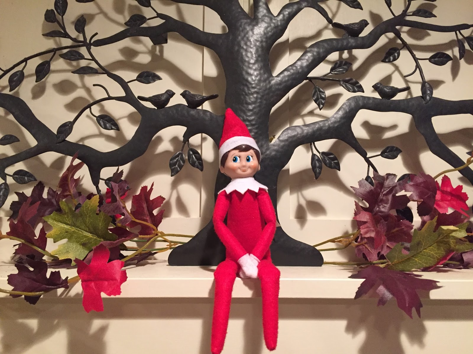 Our Boring Elf On The Shelf Boringly Sitting A Where Hell Likely Be For More Than One Morning In Row