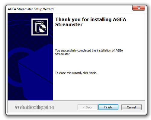 Cara Menginstall Program Streamster