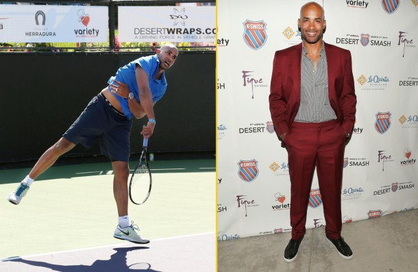 Boris Kodjoe attends The 9th Annual K-Swiss Desert Smash Charity