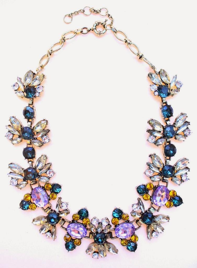 spring gem necklace majestical