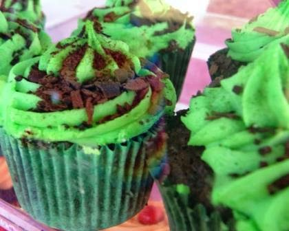 choc mint cupcake recipes for Australia