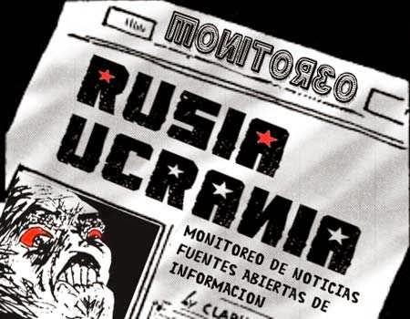 Front page versión cómic conflicto Ucrania-Rusia