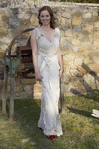 Thrift Store Wedding Dresses 27 Epic Sarah us Doily Wedding
