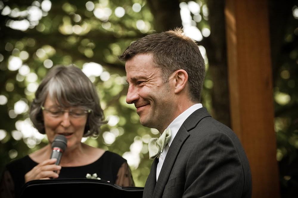 Smiles - Mike and Mark's wedding ceremony - Patricia Stimac, A Heavenly Ceremony