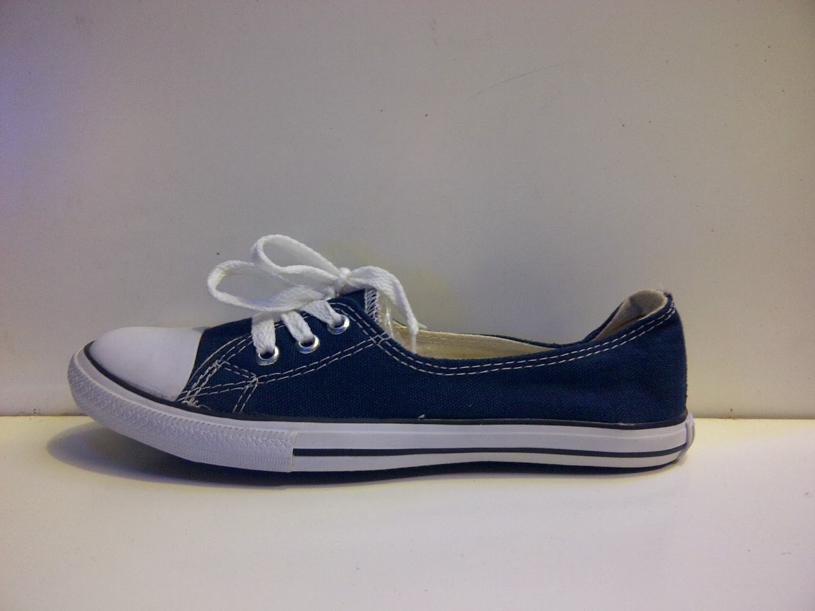 Sepatu Converse Slop Women's navy murah