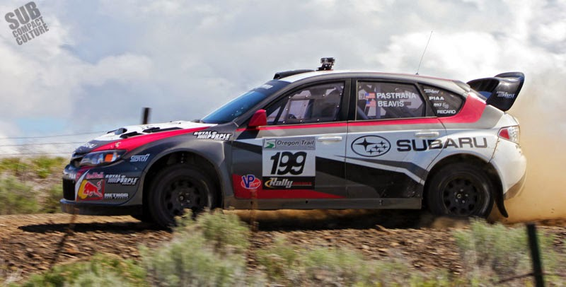 Travis Pastrana's 199 Subaru Rally Car