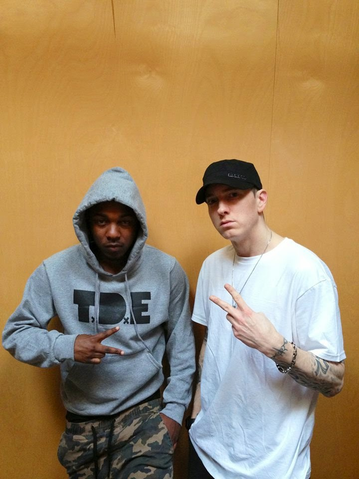 Kendrick lamar recorded another track with eminem