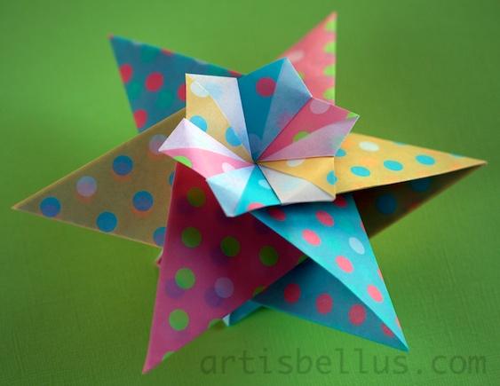Origami Stars Franziska Origami Artis Bellus