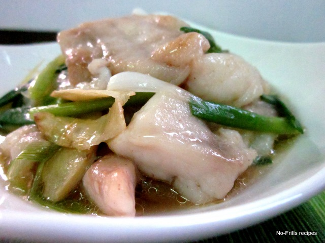 Ginger And Scallion Fish