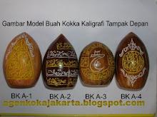 Buah Kokka kaligrafi