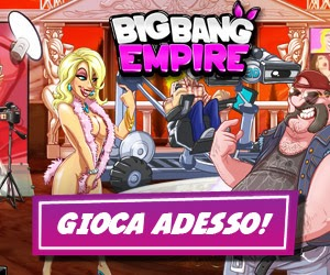 Big Bang Empire il nuovo MMO online gratis