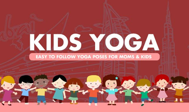 Yoga Positions Mom and Kids Could Try Together