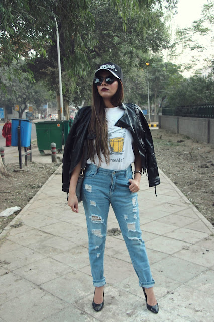 fashion, how to style leather jacket, how to style boyfriend jeans, how style distressed denim, the souled store, cool tee, Edgy winter outfit, delhi fashion, delhi blogger, delhi fashion blogger, indian blggger, indian fashion blogger, beauty , fashion,beauty and fashion,beauty blog, fashion blog , indian beauty blog,indian fashion blog, beauty and fashion blog, indian beauty and fashion blog, indian bloggers, indian beauty bloggers, indian fashion bloggers,indian bloggers online, top 10 indian bloggers, top indian bloggers,top 10 fashion bloggers, indian bloggers on blogspot,home remedies, how to