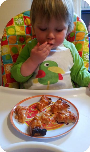 Heinz, baked bean pizza