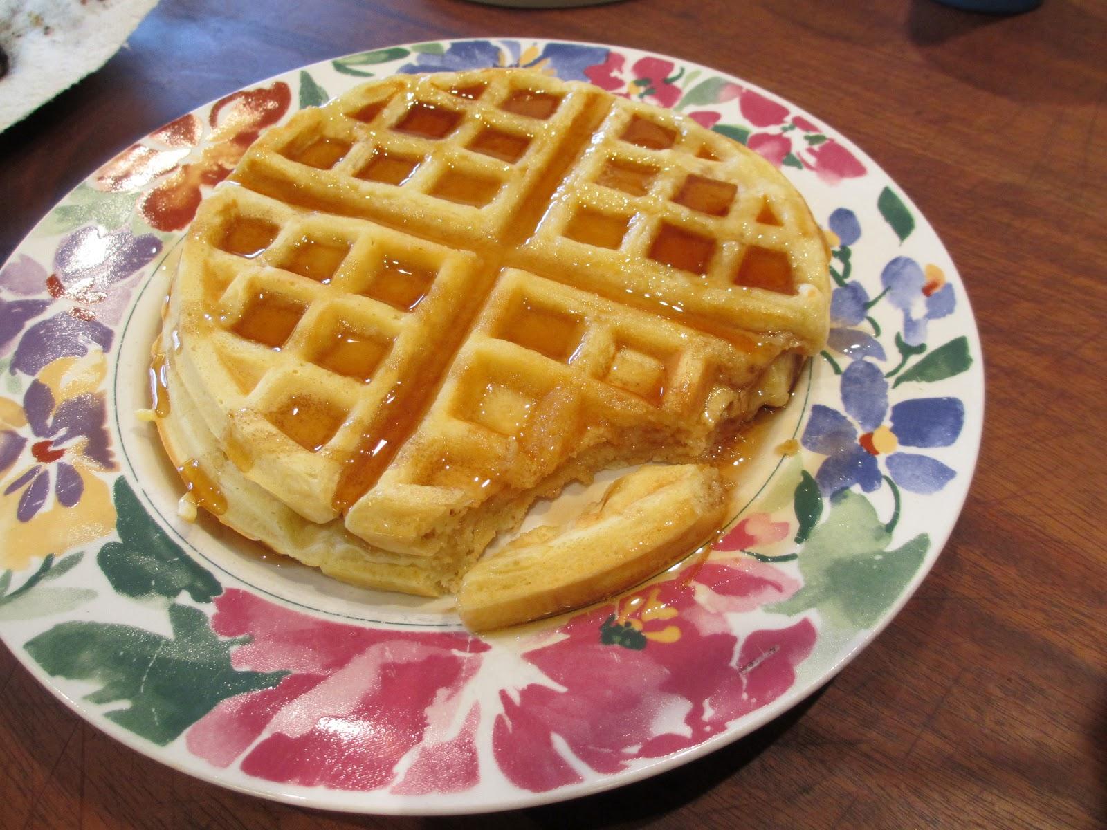 Life as Lori: Easy to make Waffles!